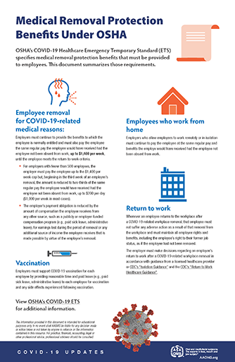COVID-19 Infographics and At-a-Glance Resources