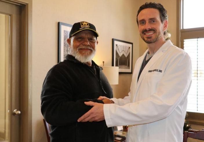Lubbock veteran benefits from surgeons' gift of dental surgery