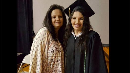 Hornbeck graduate perseveres, amid personal obstacles