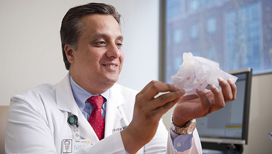 Saving a Face: OMS uses pioneering surgery to repair rare, disfiguring jaw condition
